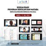 SOSIALISASI PROGRAM SEKOLAH TAHUN AJARAN 2021/2022 & SILATURAHMI BERSAMA KIYAI SILA